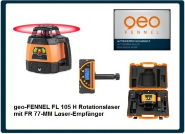 geo-FENNEL FL 105 H Rotationslaser mit FR 77-MM