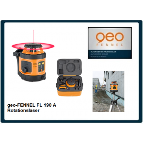 geo-FENNEL FL 190 A Rotationslaser