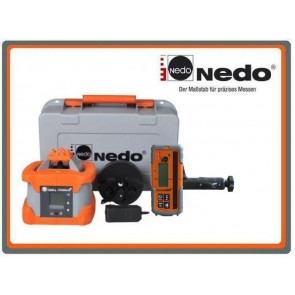 Nedo Primus 2 H2N+ Rotationslaser mit Acceptor Digital