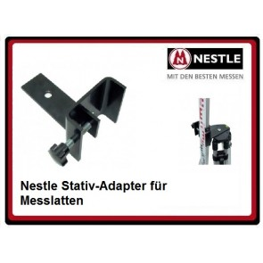 Nestle Stativ-Adapter für Messlatten