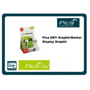 Pica DRY Graphit-Marker Display Graphit 3021