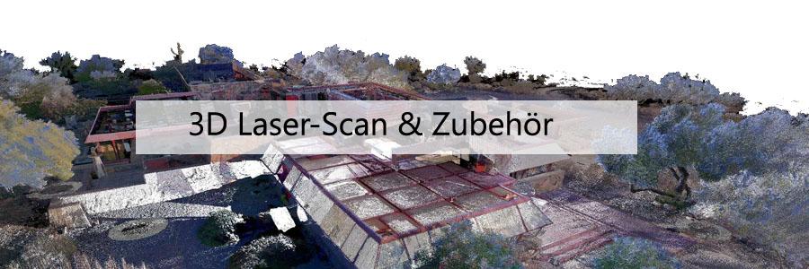 3D Laser-Scan & Zubehör