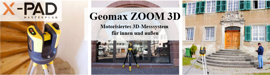 Geomax ZOOM 3D Aufmass-System