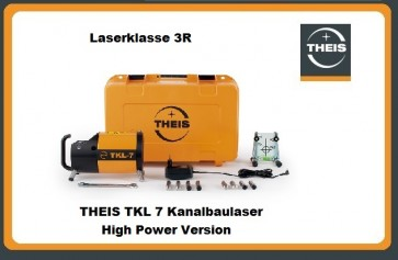 THEIS TKL 7 HighPower Kanalbaulaser LK 3R
