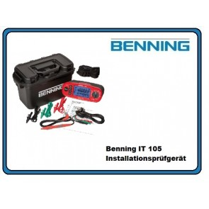 Benning IT 105 Installations-Prüfgeräte-Set
