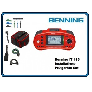Benning IT 115 Installations-Prüfgeräte-Set
