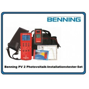 Benning PV 2 Photovoltaik-Installationstester-Set