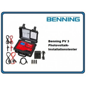 Benning PV 3 Photovoltaik-Installationstester