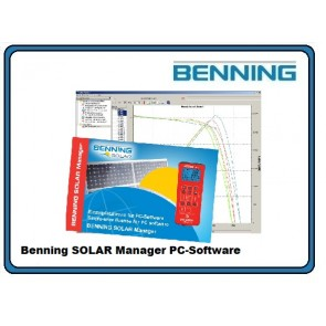 Benning SOLAR Manager PC-Software