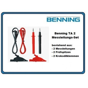 Benning TA 2 Messleitungs-Set 6tlg.
