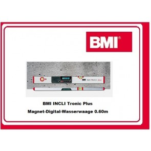 BMI INCLI-Tronic-Plus Digital-Magnet-Wasserwaage 0.60m - 2.00m