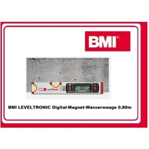 BMI LEVELTRONIC Digital-Magnet-Wasserwaage 0.80m
