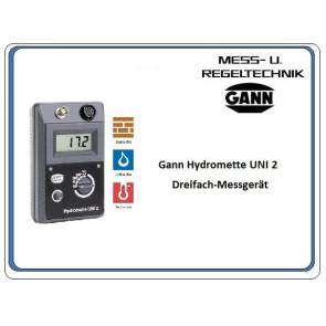 Gann Hydromette UNI 2 Temperatur-Feuchtigkeits-Messgerät