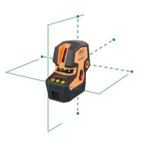 geo-FENNEL CrossPointer 5 GREEN Punkt-Kreuz-Linienlaser