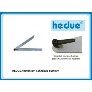 HEDUE Aluminium-Schmiege 600 mm
