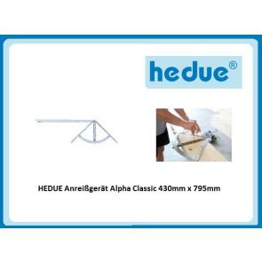 HEDUE Anreissgerät Alpha Classic 430mm x 795mm