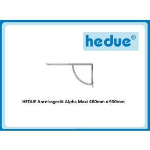 HEDUE Anreissgerät Alpha Maxi 480mm x 900mm