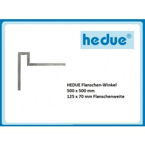 HEDUE Flanschen-Winkel 500 x 500 mm