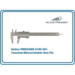 Helios PREISSER Taschen-Messschieber Duo Fix 150mm