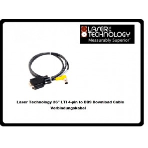 "Laser Technology 36"" LTI 4-pin to DB9 Download Cable Verbindungskabel"