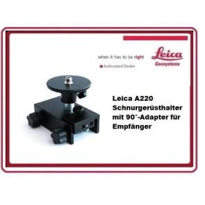 Leica A220 Schnurgerüsthalter mit 90°-Adapter für Empfänger