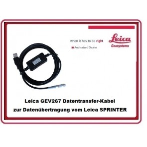 Leica GEV267 Datentransfer-Kabel für Sprinter
