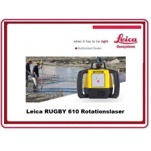 Leica RUGBY 610 Rotationslaser