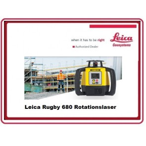 Leica Rugby 680 Rotationslaser