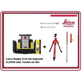 Leica Rugby CLH Rotationslaser mit CLX300 inkl. Combo im Set