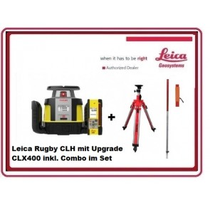 Leica Rugby CLH Rotationslaser mit CLX400 inkl. Combo im Set