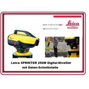 Leica SPRINTER 250M Digital-Nivellier