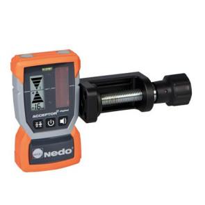 Nedo ACCEPTOR 2 DIGITAL Laser-Empfänger mit HD-Klammer