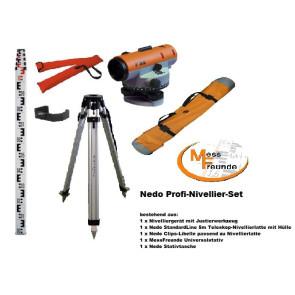 Nedo F32 Profi-Nivellier-Set