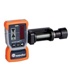 Nedo ACCEPTOR Line MM Laser-Empfänger mit HD-Klammer