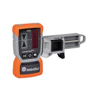 Nedo ACCEPTOR Line MM Laser-Empfänger mit RuckZuck-Klammer