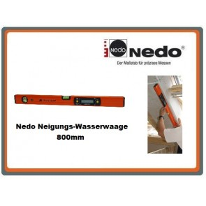 Nedo Neigungs-Wasserwaage 800mm