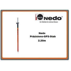 Nedo Präzisions-GPS-Stab 2.20m