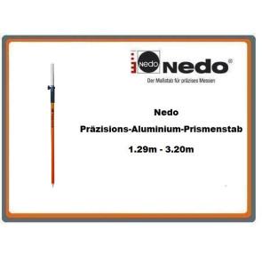 Nedo Präzisions-Aluminium-Prismenstab 1.29m - 3.20m