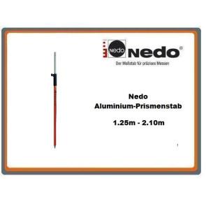 Nedo Aluminium-Prismenstab 1.25m - 2.10m