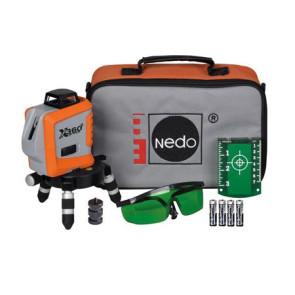 Nedo X-Liner 360 2 GREEN Kreuzlinienlaser