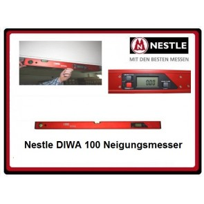 Nestle DIWA 100  Digital-Neigungsmesser 1.00m