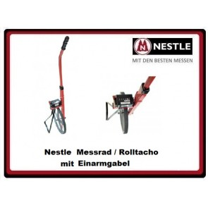 Nestle Messrad mit Einarmgabel
