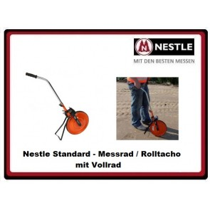 Nestle Messrad mit Vollrad