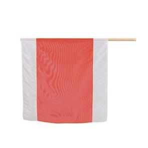 Nestle Warn-Flagge 75x75 weiß-rot-weiß