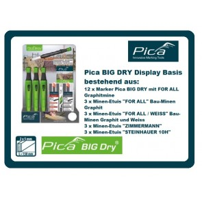 Pica BIG DRY Display Basis