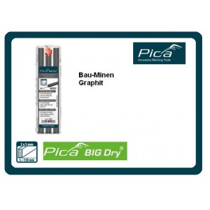 Pica BIG DRY Graphit-Minen-Etui FOR ALL