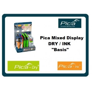 Pica Mixed Display DRY / INK Basis