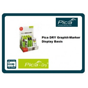 Pica DRY Graphit-Marker Display Basis