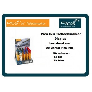 Pica INK Tieflochmarker Display