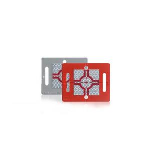 Rothbucher RS61 selbstklebende Vermessungs-Plakette mit Reflexzielmarke
